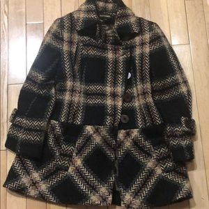 Girls coat wool made in France